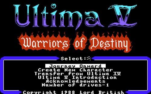 Ultima V - Concept 1 inspiration
