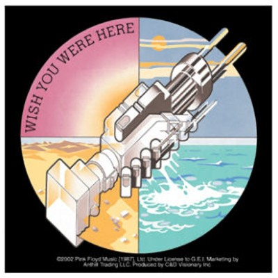 PINK FLOYD. Wish You Were Here inspiration
