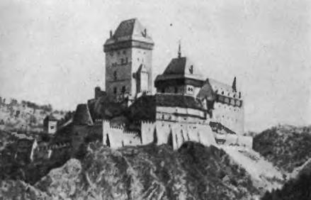 Karlshteyn Castle on Czech Rep inspiration