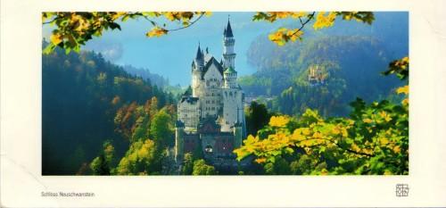 Schloss Neuschwanstein inspiration