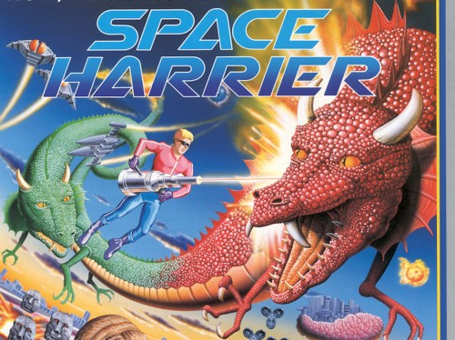 Space Harrier inspiration
