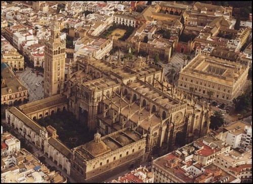Catedral de Sevilla inspiration