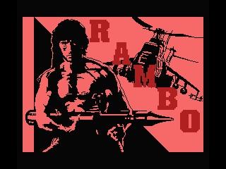 Rambo 2 inspiration