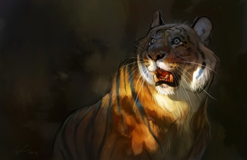 Amur tiger inspiration