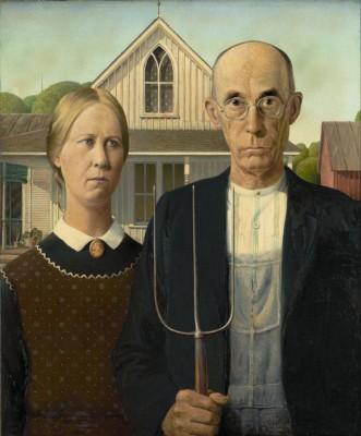 American Gothic inspiration