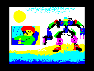Робот у моря (Робот у моря)