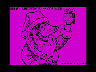 Moley Christmas (Moley Christmas)