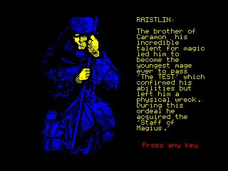 Heroes of the Lance - Raistlin (Heroes of the Lance - Raistlin)