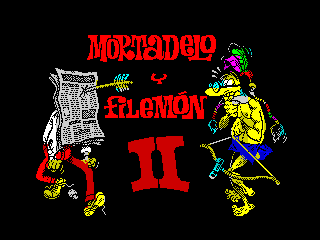 Mortadelo y Filemon II (Mortadelo y Filemon II)