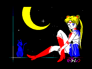 Sailor moon (Sailor moon)