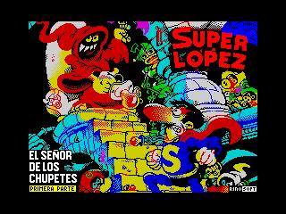 Super Lopez - El Senor de los Chupetes (Super Lopez - El Senor de los Chupetes)