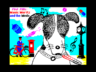 Pink Pills: Manic Moritz and the Meds (Pink Pills: Manic Moritz and the Meds)