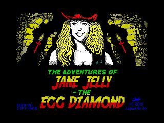 The Adventures of Jane Jelly: The Egg Diamond (The Adventures of Jane Jelly: The Egg Diamond)