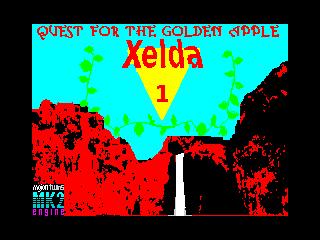 Xelda 1: Quest for the Golden Apple (Xelda 1: Quest for the Golden Apple)