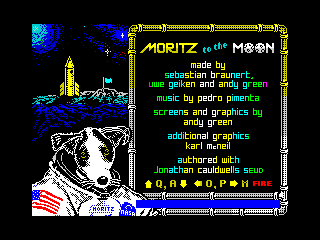 Moritz to the Moon (Menu) (Moritz to the Moon (Menu))
