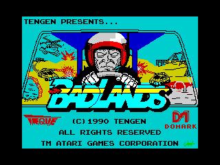 Badlands (title screen) (Badlands (title screen))