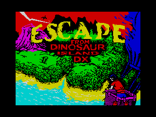 Escape from Dinosaur Island DX (Escape from Dinosaur Island DX)