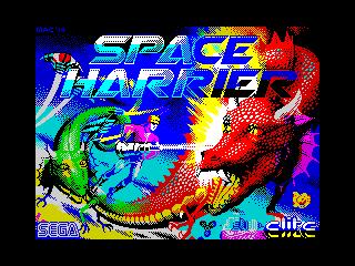 Space Harrier (Space Harrier)