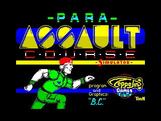 Para Assault Course (Para Assault Course)