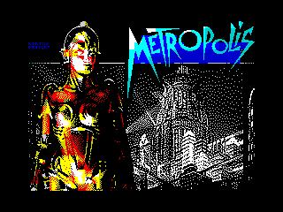 Metropolis-Fan Art ZX Screen (Metropolis-Fan Art ZX Screen)
