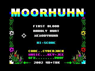 Moorhuhn: First Blood (Moorhuhn: First Blood)