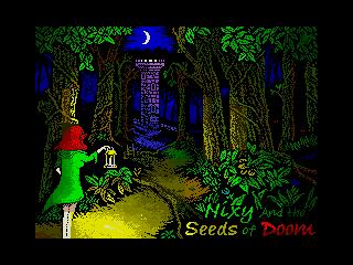 Nixy and the Seeds of Doom (ULAplus) (Nixy and the Seeds of Doom (ULAplus))