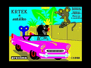 Krtek a Auticko