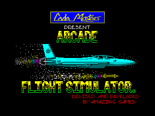 Arcade Flight Simulator