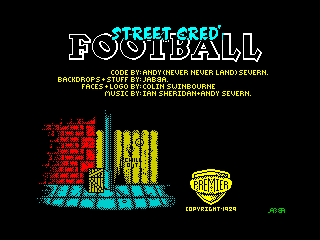 Street Cred' Football