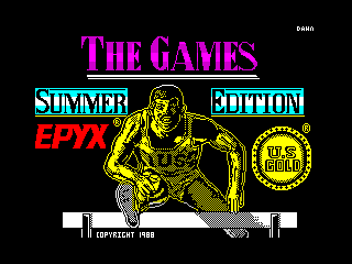 Games - Summer Edition, The