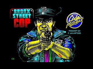 Bronx Street Cop