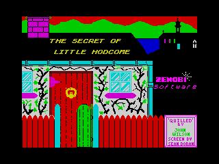 Secret of Little Hodcome, The