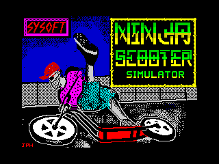 Ninja Scooter Simulator