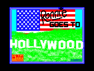 Ronnie Goes to Hollywood