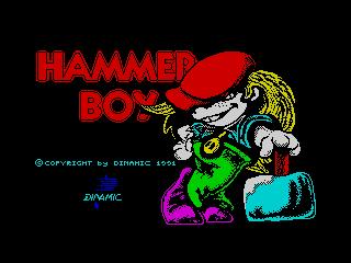 Hammer boy