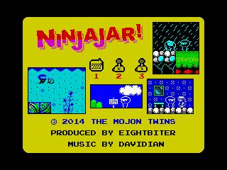 NinjaJar menu