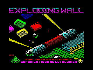 Exploding Wall
