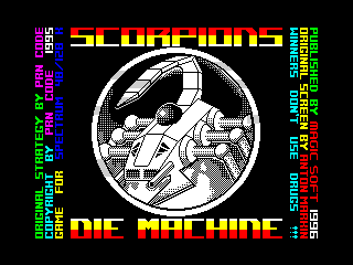 Scorpions Die Machine