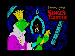 Dragon's Lair II - Escape From Singes Castle