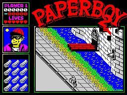 Paperboy 2 ingame 5