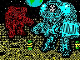 """Mech Z80. Mission: """"Moon"""""""
