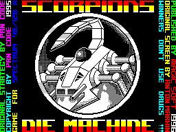 Scorpions Die Machine