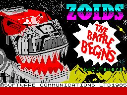 Zoids: The Battle Begins