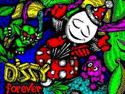 Dizzy forever! Title screen