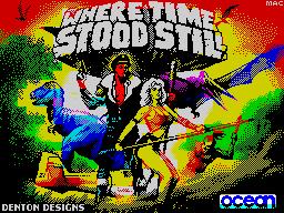 Where Time Stood Still (revised)