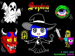 Sophia V1.1 loading screen