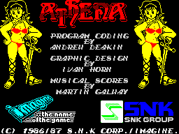 Athena (menu)
