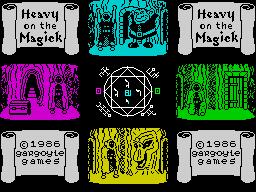 Heavy on the Magick