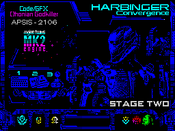 HARBINGER: Convergence - stage two - menu
