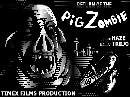 Return of the pig zombie